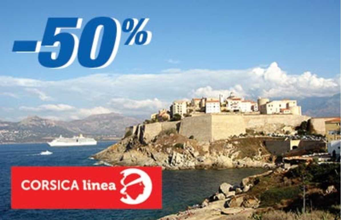 Ferry-online Corsica Promo