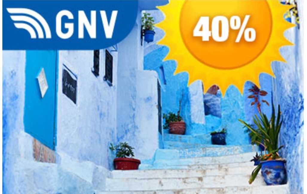 Ferry-online GNV Promo